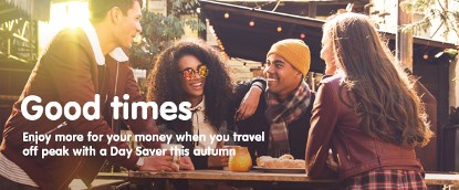 Day Saver  - Unlimited off-peak travel for £5 or less