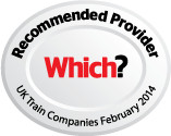 Which? recommended provider UK train companies February 2014