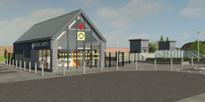 Maghull North Station Building Tease