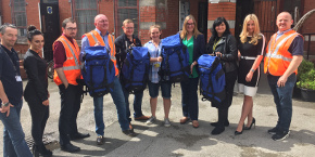 Rucksacks Homeless Centre 290X145