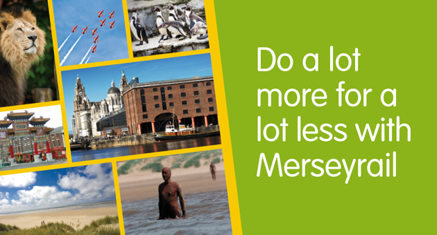 Do a lot more for a lot less with Merseyrail